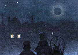 Вениаминов, П. П. Лунное явление, виденное в Москве 1812 года, ноября 28 дня