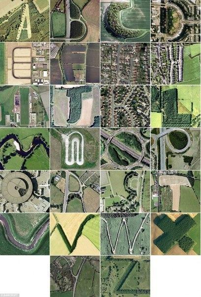 Алфавит от Google Maps