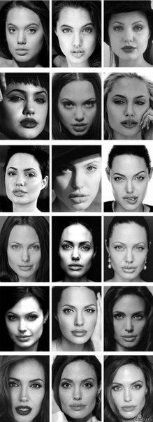 Анджелина Джоли 14-37 лет.