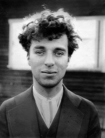 Чарли Чаплин без грима.