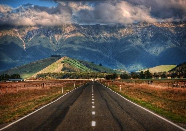 Дорога. Новая Зеландия