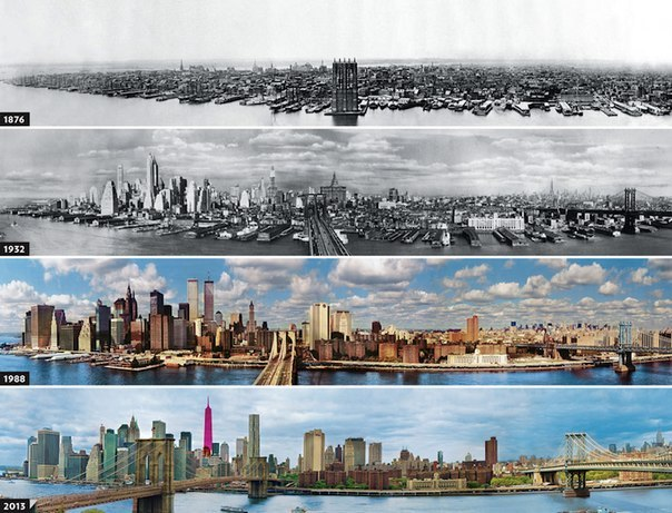 Эволюция Нью-Йорка