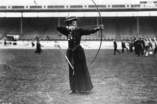 Фото с Олимпиады 1908 года в Лондоне.