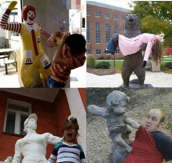 Фотографируйся с памятниками правильно.
