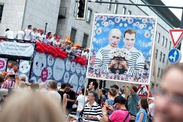 Гей парад в Берлине. 23 июня, 2012 год.