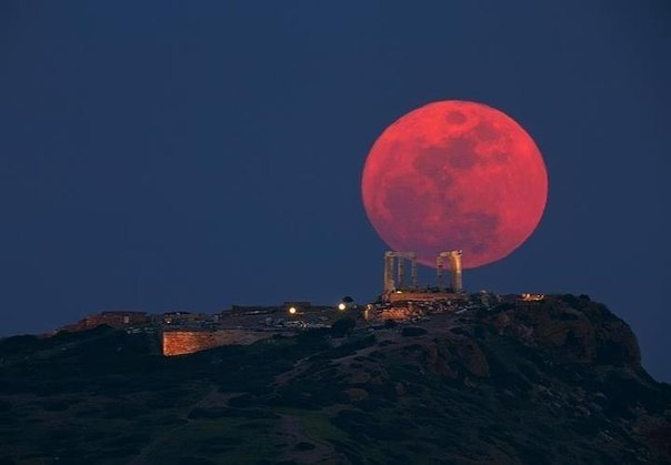Храм Посейдона, Сунион, Греция.
