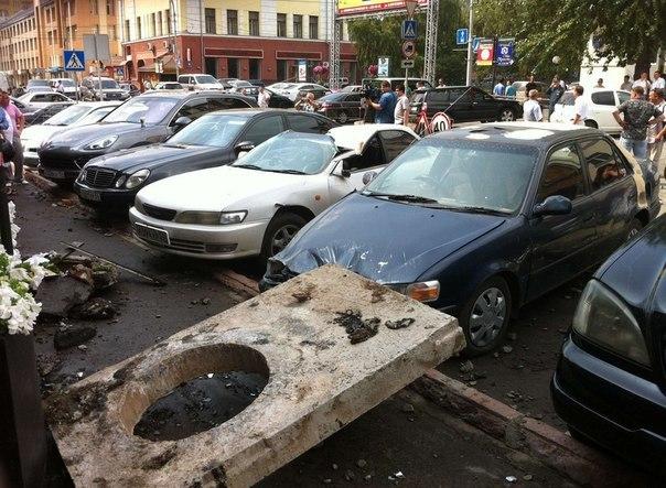 Испытания горводоканала в Новосибирске.