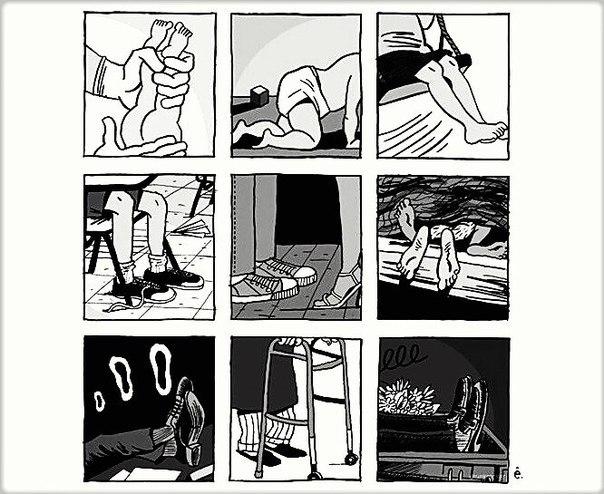История одних ног