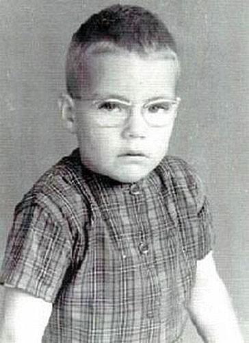 Жан-Клод Ван Дамм в детстве.