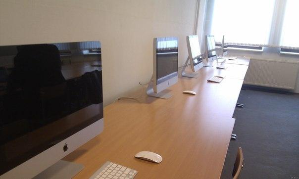 Компьютерный кабинет в университете ЕНУ им. Л.Н.Гумилева.