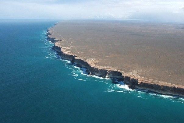 Край земли, Южное побережье Австралии.