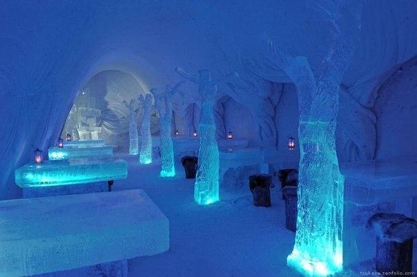 Ледяной отель в Кеми. Финляндия.