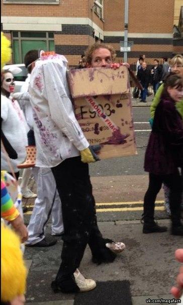 Лучший костюм на Halloween.