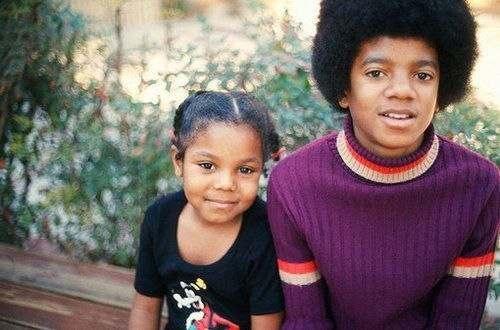 Майкл и Джанет Джексон.