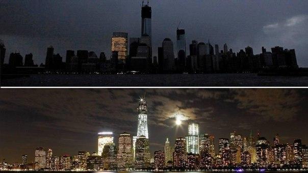Манхэттен: во время урагана