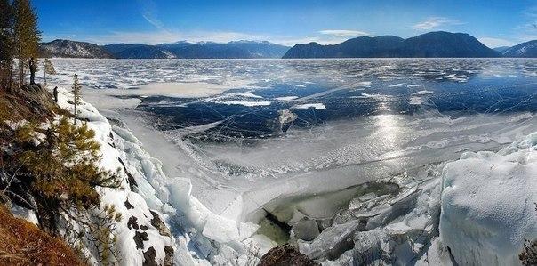 Место не тронутое человеком - Телецкое озеро.