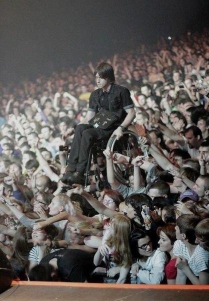 На концерте группы Korn в Москве