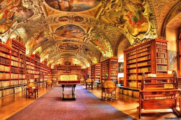 Национальная библиотека в Чехии.
