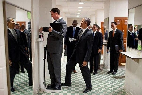 Обама снова прикалывается.