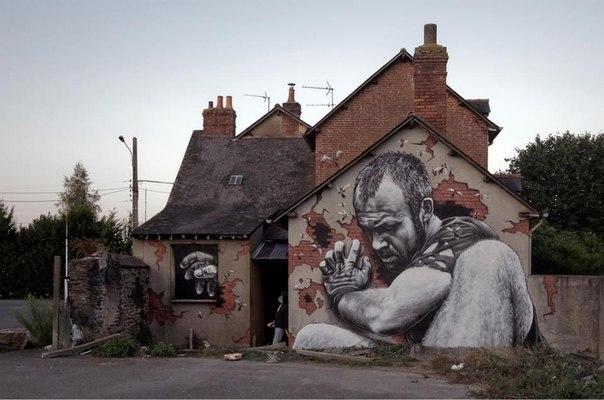 Очень крутой Street Art!