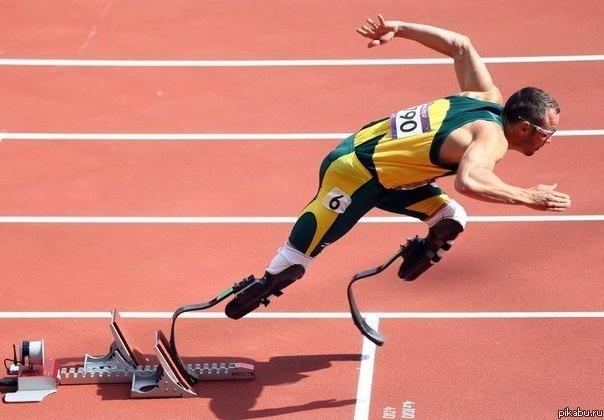 Оскар Писториус - первый в истории безногий бегун на Олимп