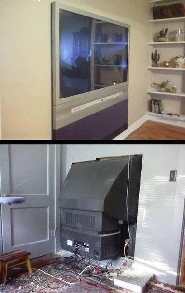 Плазменный телевизор по-русски.