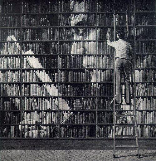 Портрет из книг.