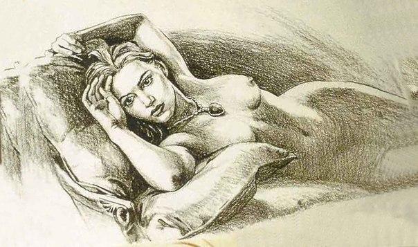 Рисунок, изображающий Розу, был сделан самим Джеймсом Кэме