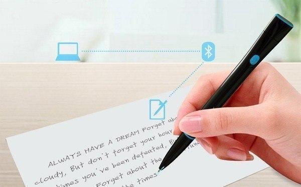 Ручка, которая запоминает то, что вы пишете и сохраняет в файл, который затем можно открыть на компьютере и