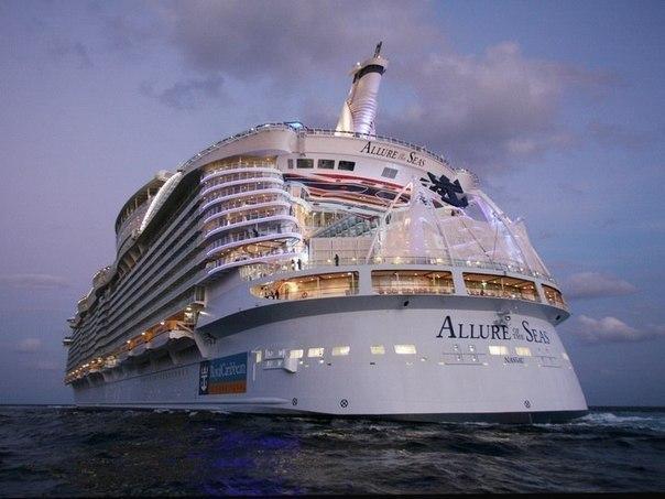 Самым большим пассажирским судном в мире является круизны