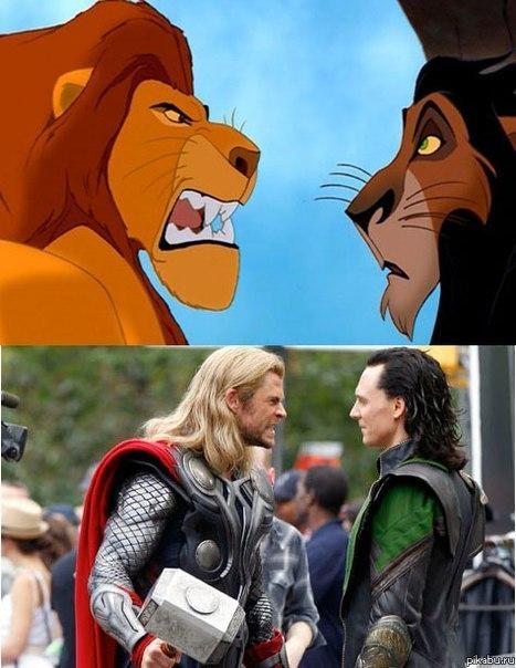 Сходство определённо есть.