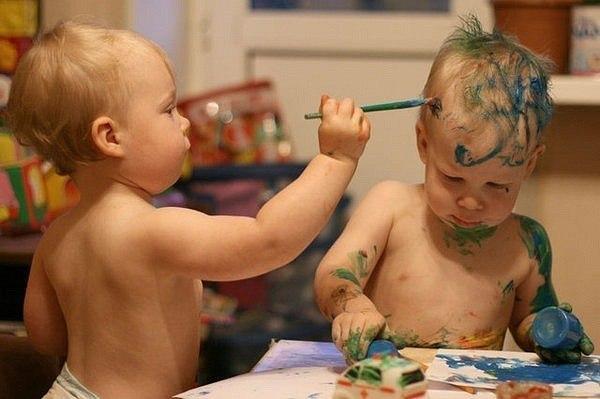 Юные художники :)