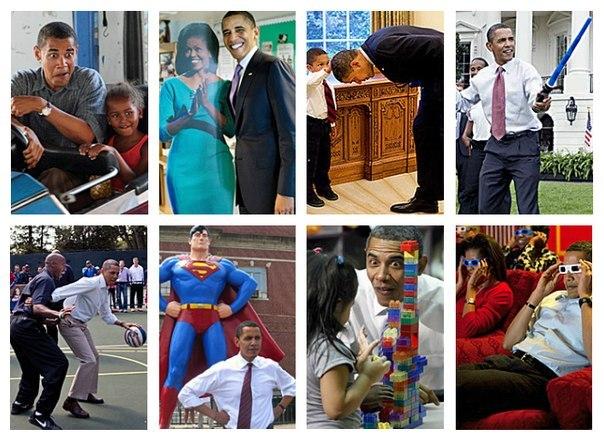 Веселый президент :)