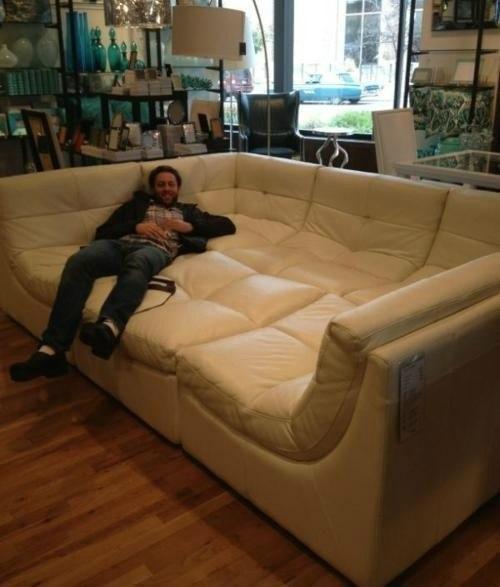 Вот это диван!