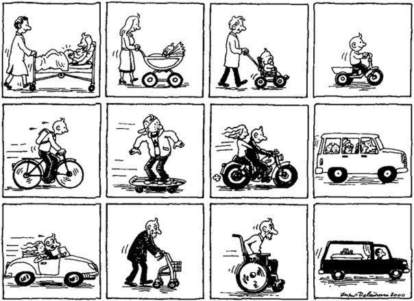 Вся жизнь на колёсах.