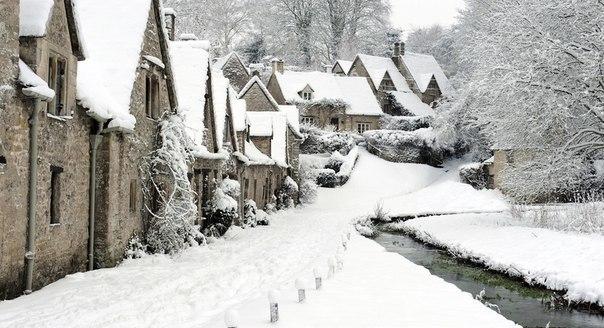 Зимняя Англия